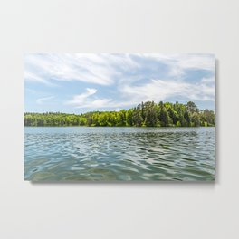 Lake Itasca - Minnesota, USA 2 Metal Print