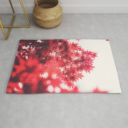 Red Japanese Maple Rug