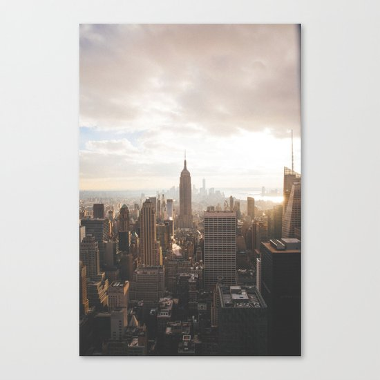 Empire State of Mind Canvas Print