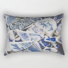 Japanese Sea Pottery - Collection I Rectangular Pillow