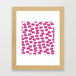 Kisses and Nibbles Framed Art Print