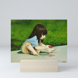 The Artist Mini Art Print