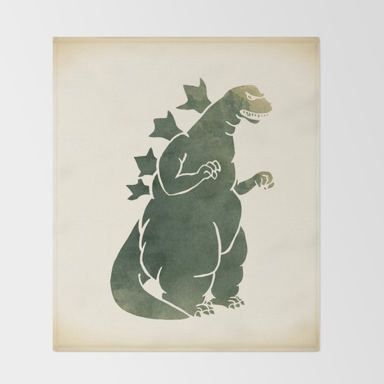 Godzilla - King of the Monsters Throw Blanket