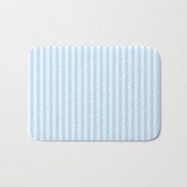 Baby Blue Stripes Bath Mat
