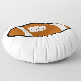 Los Angeles American Football Design black lettering Floor Pillow