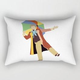 Sixth Doctor: Colin Baker Rectangular Pillow