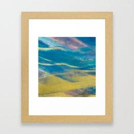 Desert Ocean Framed Art Print