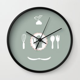 Kitchen Story Wall Clock