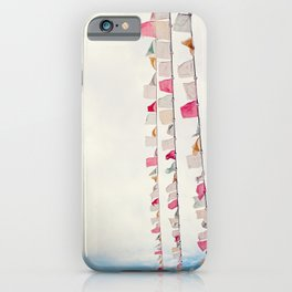 prayer flags no. 2 iPhone Case