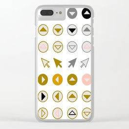 Symbology 3 Clear iPhone Case