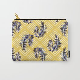 Geometries & Blue Palms #society6 #decor #buyart Carry-All Pouch
