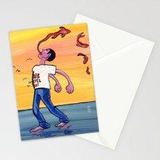 We never joy. Stationery Cards