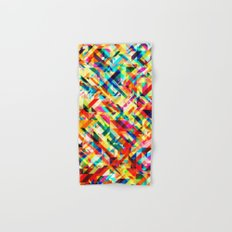 Summertime Geometric Hand & Bath Towel