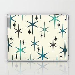 Mid Century Modern Star Sky Turquoise Laptop & iPad Skin