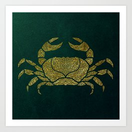 C is for Crab Art Print