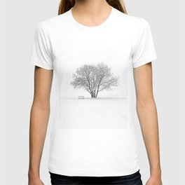 White Winter Place T-shirt