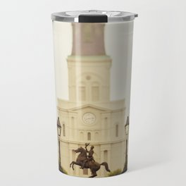 New Orleans Looking Through Jackson Square Travel Mug
