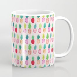 Neon Pineapples Coffee Mug