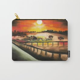 running at dusk 1 Carry-All Pouch