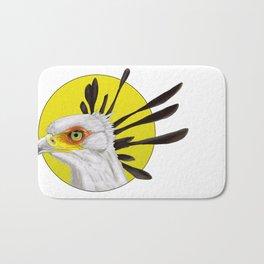 Secretary Bird Bath Mat