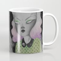 outer space Mugs featuring Ghoul from Outer Space by lOll3