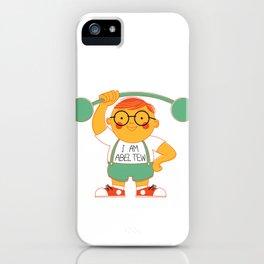 Abel Tew Year 01 iPhone Case