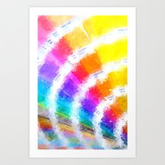 Pantone Color Book Art Print