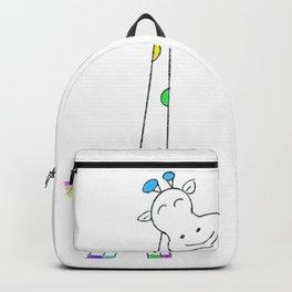 Cute Cartoon Giraffe Kids Gifts Backpack