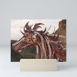 Iron Horse Mini Art Print