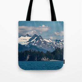 Kachemak_Bay Mountains - Alaska Tote Bag