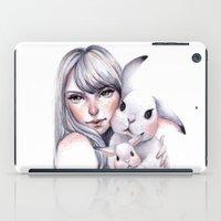 cuddle iPad Cases featuring Cuddle! by Koanne Ko
