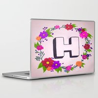 gift card Laptop & iPad Skins featuring gift by Shahadjef