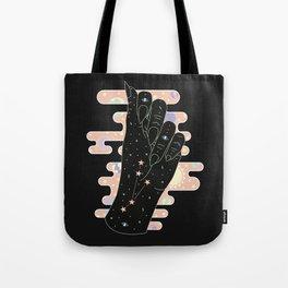 Aries - Zodiac Illustration Tote Bag