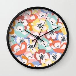 Paper Pop Sakura Wall Clock