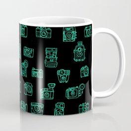 Cameras: Teal - pop art illustration Coffee Mug