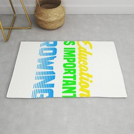 Rowing Education Important Rowing Importanter Rower Rug