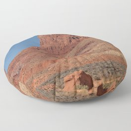 Colorful Mesas 3 - Desert Southwest Floor Pillow