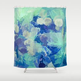 Ice Cold Forest Shower Curtain