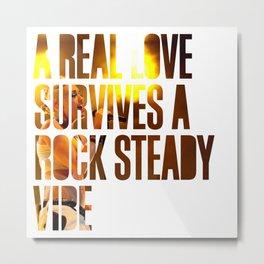 No Doubt - 'Rock Steady' lyrics Metal Print