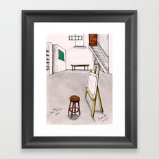 MEMORIES OF MY INNER CHILD 1# - Art Studio Framed Art Print
