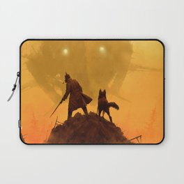 1920 - take your dog for a walk Laptop Sleeve