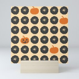Pumpkins Theme Mini Art Print