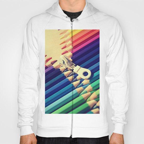 Crayon Zip Hoody