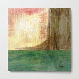 Awakening, Abstract Landscape Metal Print
