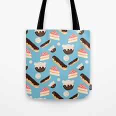 sweet things (on blue) Tote Bag
