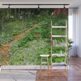 Garden Path Wall Mural