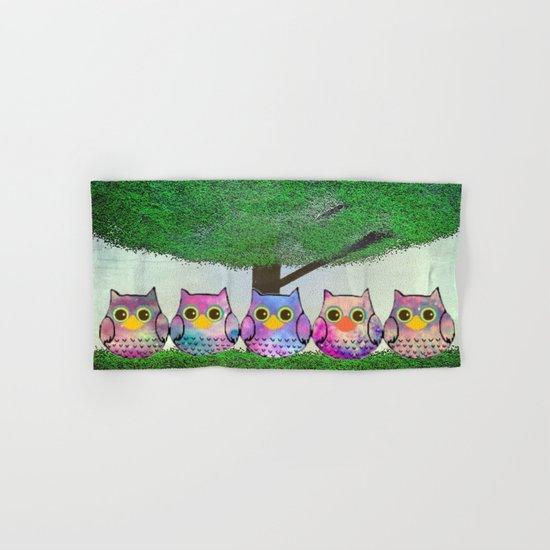 owl-873 Hand & Bath Towel