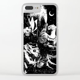 Children of the Night Clear iPhone Case