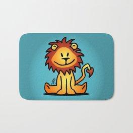Cute little lion Bath Mat