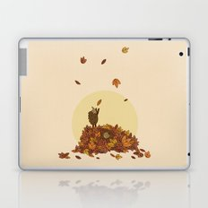 Autumn Hedgehogs Laptop & iPad Skin